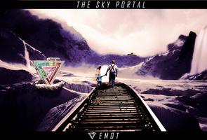 1# PhotoManipulation | The Sky Portal by itsEmot