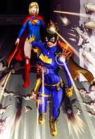 Kryptonian Batgirl by fradarlin