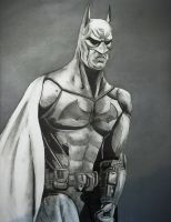 Arkham City Batman Drawing 3 by cusT0M
