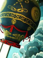 hot air balloon by dontbemad