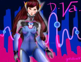 Fourth Request: D.Va from Overwatch. by YokoHanaSP
