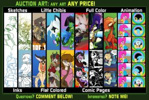 Auctions: Any Art Any Price! by Deathinator