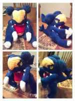Garchomp plush by LRK-Creations