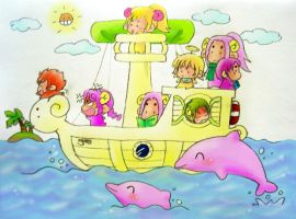 Sailing Aries by MZ15