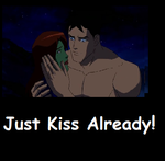 Young Justice League- Kiss by Welsh-and-proud