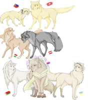 hetalia wolves pt. 1 by stardust-requiem