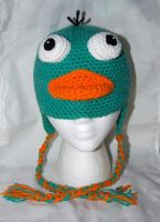 Perry Beanie with Earflaps by rainbowdreamfactory