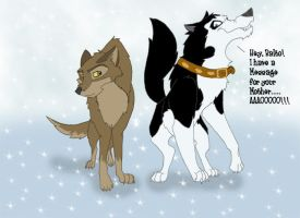 Balto and Steele by Tamir1987