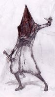 076 - Pyramid Head by Dalicris
