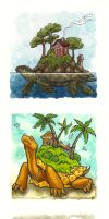 Turtles of Small Worlds by dcwilson