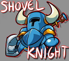 Shovel Knight by KeiraKain