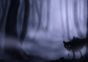 Speedpainting- Lurking by NutLu