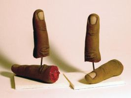 Prop Fingers by TimBakerFX
