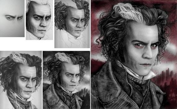 The Making of Sweeney Todd by kristymariethomas