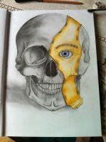 Skull. by Duncan-McEwan-Art
