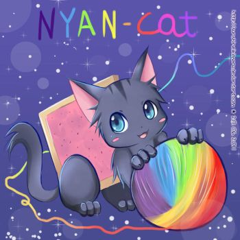 Nyan Cat by sunshineikimaru