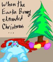 Christmas Vs. Easter by Dympna