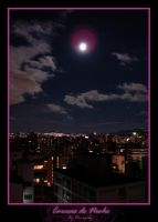 Caracas at night by Dinogaby