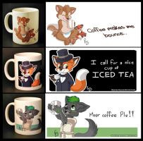 Nice mugs by pandapaco