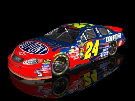 Jeff Gordon by nascarnut