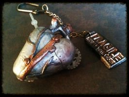 Silver Steampunk Heart (back) by random-wish