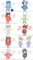 :DMMd: group in sweaters by BlackMayo