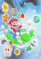 Super mario Galaxy 2 by Ashayx