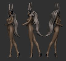 Fran_WIP 5 - Quick Sculpt by HazardousArts