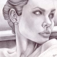 Angelina Jolie by songhee