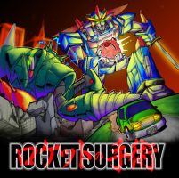 Rocket Surgery Album Art by rockmanzallz