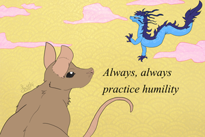 Practicing Humility by Izzyhime