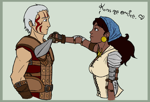 Request - Isabela and Velan by Golden-Trio