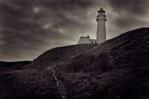 Lighthouse path by BenWalker