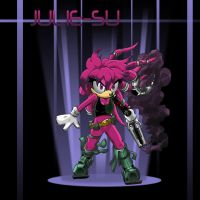 Juli-Su The Echidna by VladimirJazz