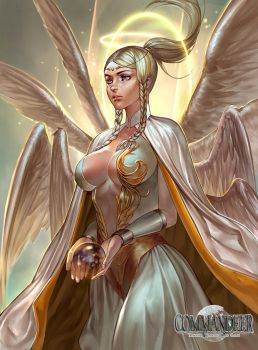 Angel of consecration by babepig