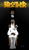 The Brother and Harriet Tubman by samax