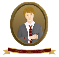 Ronald Bilius Weasley by azile-azure
