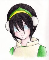 surprised Toph by MagnaStorm