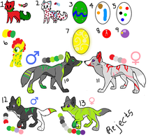 Adoptable Rejects 3 [ closed ] by opadopts