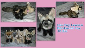 Uni Toy Bat Eared Fox 10.5in by Vesperwolfy87