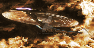 Star Trek Ships of the Line 2014 by Hayter