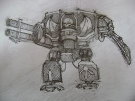 Nightlords Dreadnought Thingy by KraghOdinusJuliovich
