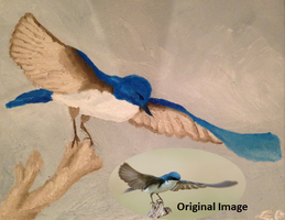 Tree Swallow (Oil Painting) by WhimsyBridges