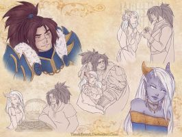 SketchPage: Theo and Varian by TsuchiKuroi