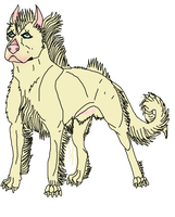 Long Haired Warr Dog Concept by lighteningfox