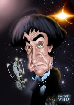 Dr Who 50th Anniversary - Patrick Troughton by Steveroberts