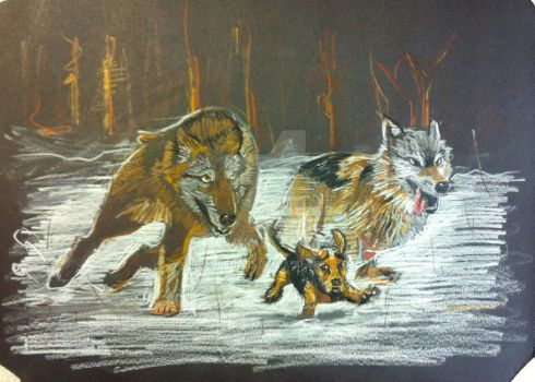 You will run with the pack again, little one by Spelleroid