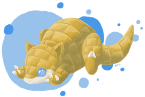 Sandshrew by Fjodor
