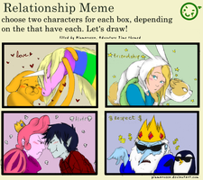 Relationship Meme - Adventure Time by Martiverse