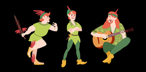 PETER PAN #transformation by a-gu